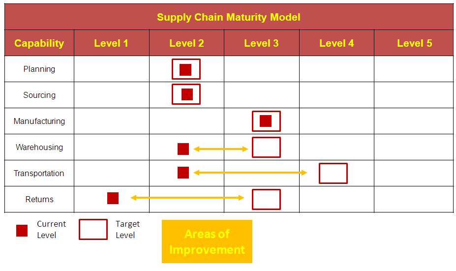 Maturity Model Example | Consultant's Mind