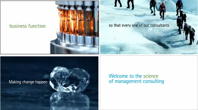 Accenture video: An advertisement for management consultants